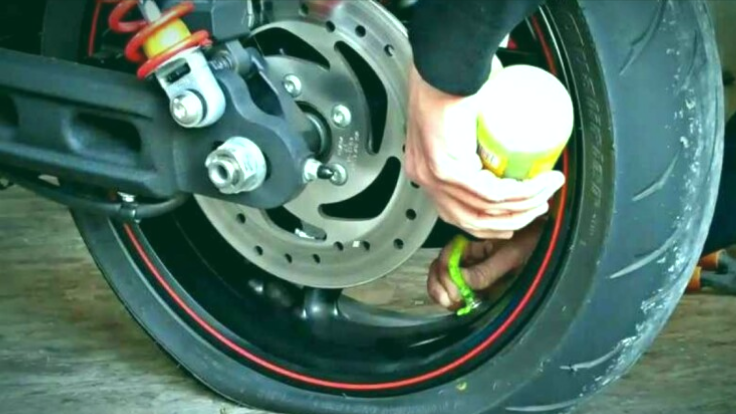 presión de aire de moto