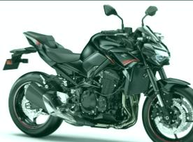 Kawasaki Z900 moto A2