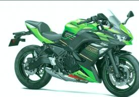 kawasaki ninja 650 moto A2