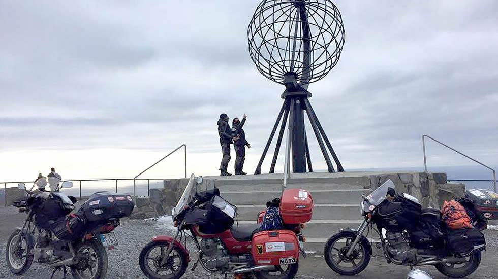 cabo norte en moto