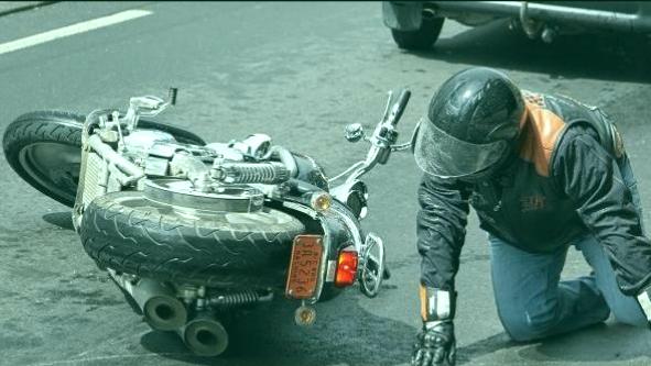 accidentados en moto