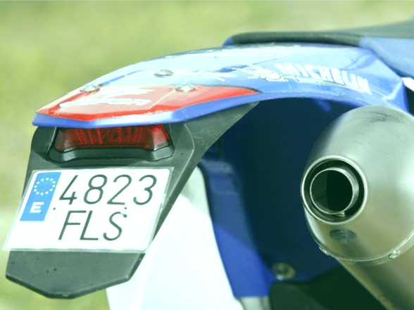 matrículas de moto