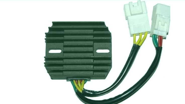sistema eléctrico de una moto